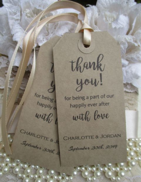 10 Happily Ever After Tags Kraft